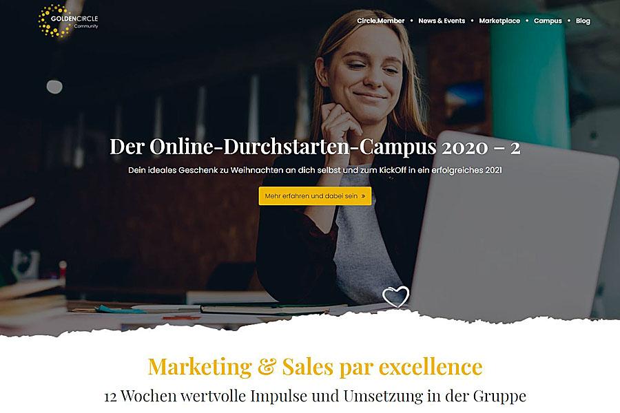 Campus 2 Website GoldenCircle