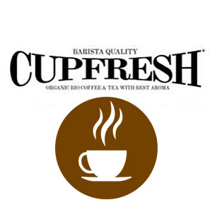 GoldenCircle Cupfresh Logo Tasse