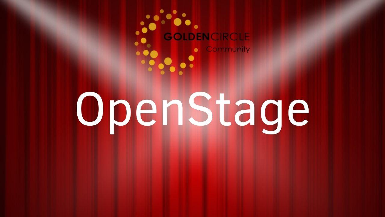 GoldenCircle OpenStage Vorhang zu