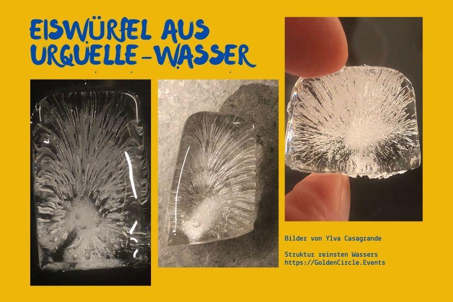 GoldenCircle UrQuelle Eiswürfel