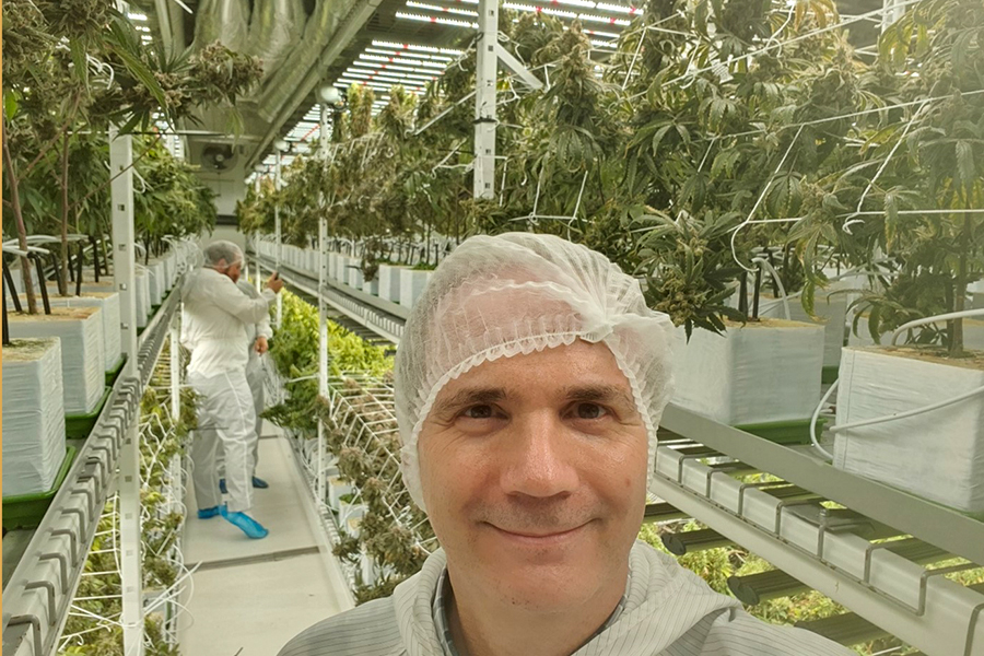 Einblicke in eine Cannabis-Anlage